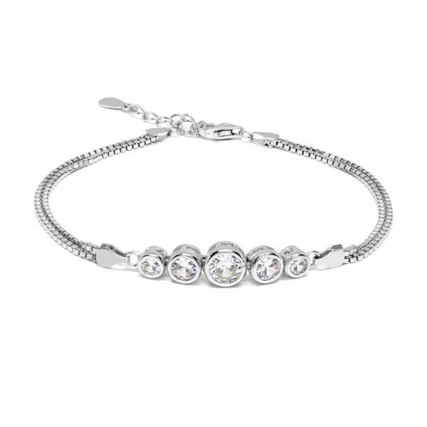 Bratara din argint Elegance
